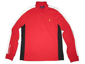 Ralph Red Black Pullover Polo Athletic White Training Lauren Pima dPqwUfE