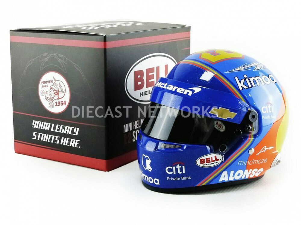 MINI HELMET - 1/2 - CASQUES FERNANDO ALONSO - INDY 500 2019 - 4104364