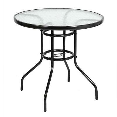 Square Dining Table Outdoor Black Cast