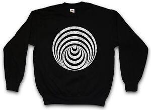 Hypno Sweatshirt Pullover Spiral Hypnotic Mystic Labyrinth Circle I pwrt4UqBp