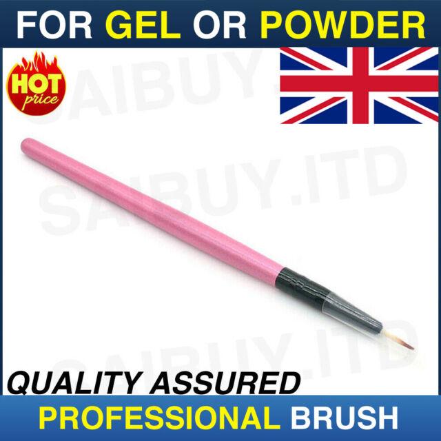 Professional Cosmetics Brush - Eyeliner brush - Thin for Gel or Powder Eye Line