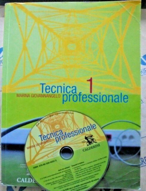 TECNICA PROFESSIONALE VOL.1 con Cd  - MARINA GIOVANNANGELO - CALDERINI SCUOLA