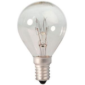 10-x-Maxim-Golf-Ball-60w-CLEAR-Light-Bulb-SES-E14-Small-Screw