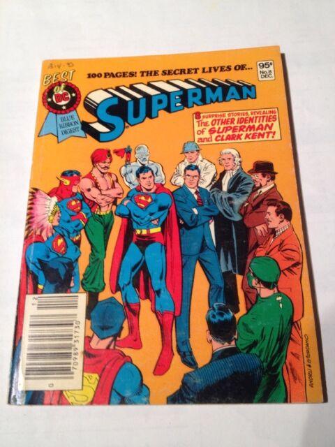 Best of DC blue ribbon digest #  8 superman