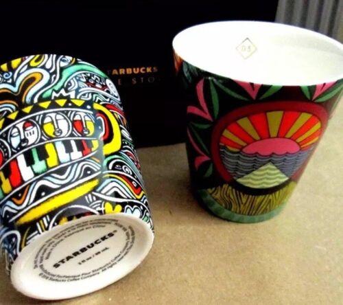 NWB-Starbucks STORIES series Espresso Cups 2 Oz 2018Limited Free Shipping