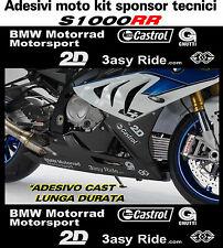 adesivi per bmw s1000rr hp4 sponsor tecnici stickers s1000rr