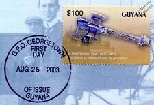 Alliot Verdon Roe AVRO TRIPLANE Aircraft Stamp FDC (100 Years of Powered Flight)