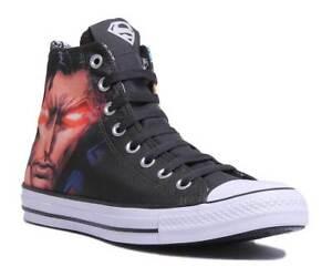 Dettagli su Converse CT All Star Hi DC Comics Superman scarpe da ginnastica Donna in Nero Taglia UK 3 8 mostra il titolo originale