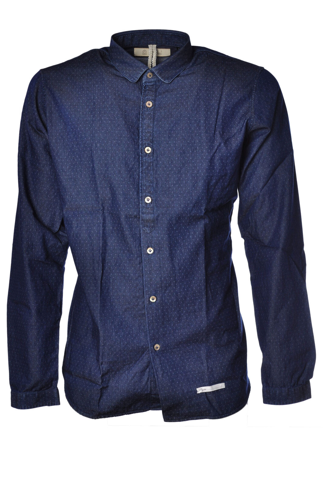 Dnl - Shirts-Shirt - Man - Blau - 996718C181052