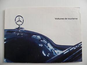 Brochure-MERCEDES-BENZ-voitures-de-tourisme-de-03-1963