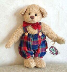 Cottage Collectibles Ganz Buddy Bear Plush Vintage 1995 By Lorraine Overalls 12 Ebay