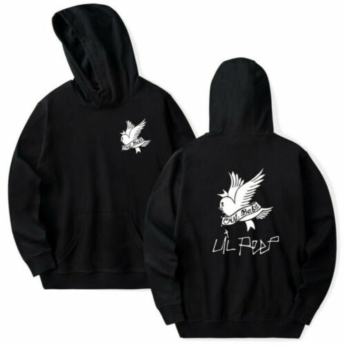 Lil Peep Bird Graffiti Hip-Hop Rapper Sweatshirt Unisex Jacket Pullover Hoodies