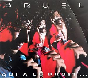 Patrick-Bruel-Maxi-CD-Qui-A-Le-Droit-France-VG-VG
