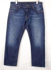 GANT Hommes Tyler Droit Slim Jeans Extensible Taille W36 L30 BDZ1355
