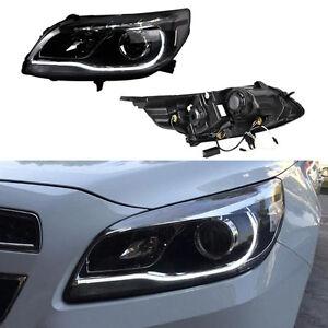 For Chevrolet Malibu 2012 2015 Xenon Lamps Hid Angle Halo