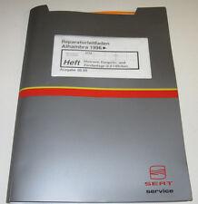 Werkstatthandbuch Seat Alhambra Motor Zündanlage Anlage Motronic ab Baujahr 1996