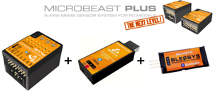 MICROBEAST Plus HD + USB2SYS + BLE2SYS - RC Heli Flybarless System