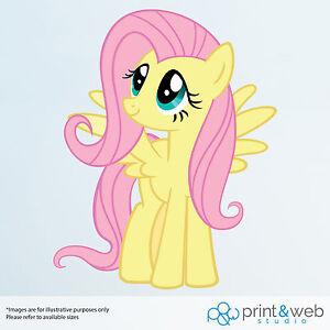 9e4227a774c Image is loading My-Little-Pony-Fluttershy-Vinyl-Decal-Wall-Sticker-