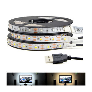 3528smd usb led strip light rgb white warm white lamp bar tv image is loading 3528smd usb led strip light rgb white warm aloadofball Gallery