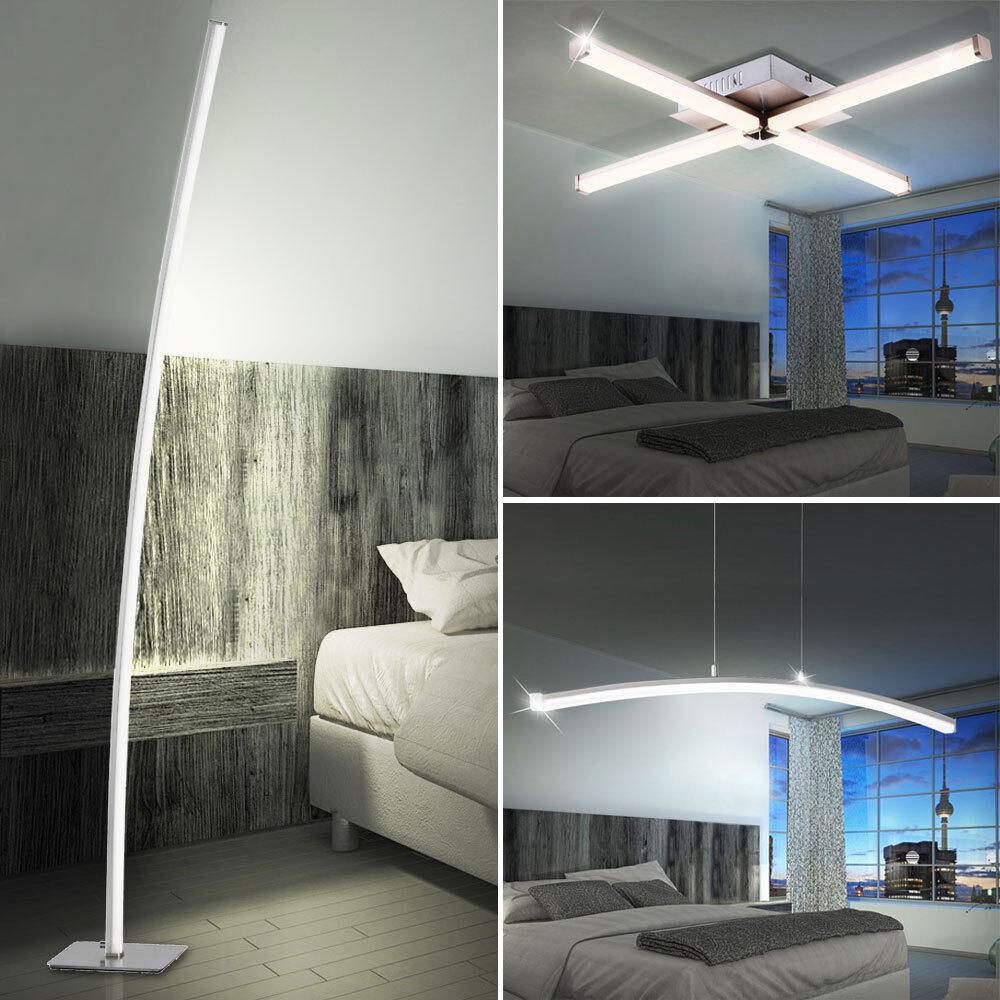 Design tiges plafond Lampe suspension projecteurs à LED salon lampadaire Wofi