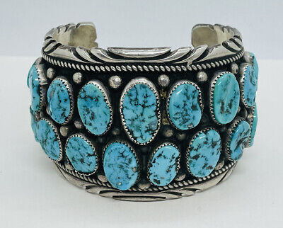 Sterling and Spiny Oyster Bracelet by Rex Abetia