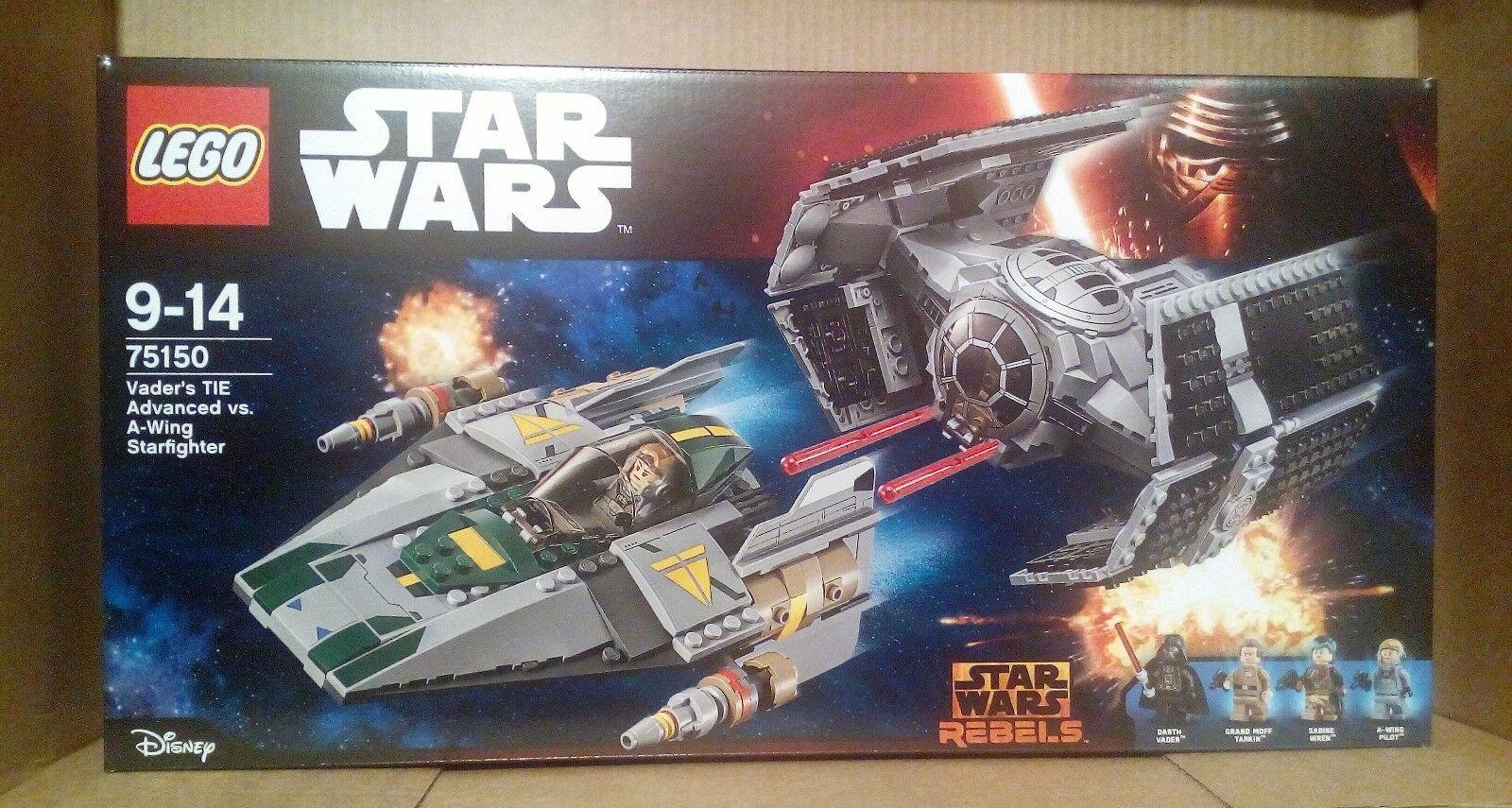 LEGO STAR WARS 75150 Vader Tie Tie Tie Advanced VS Wing Starfighter-NUOVO SIGILLATO-MISB 2003f5