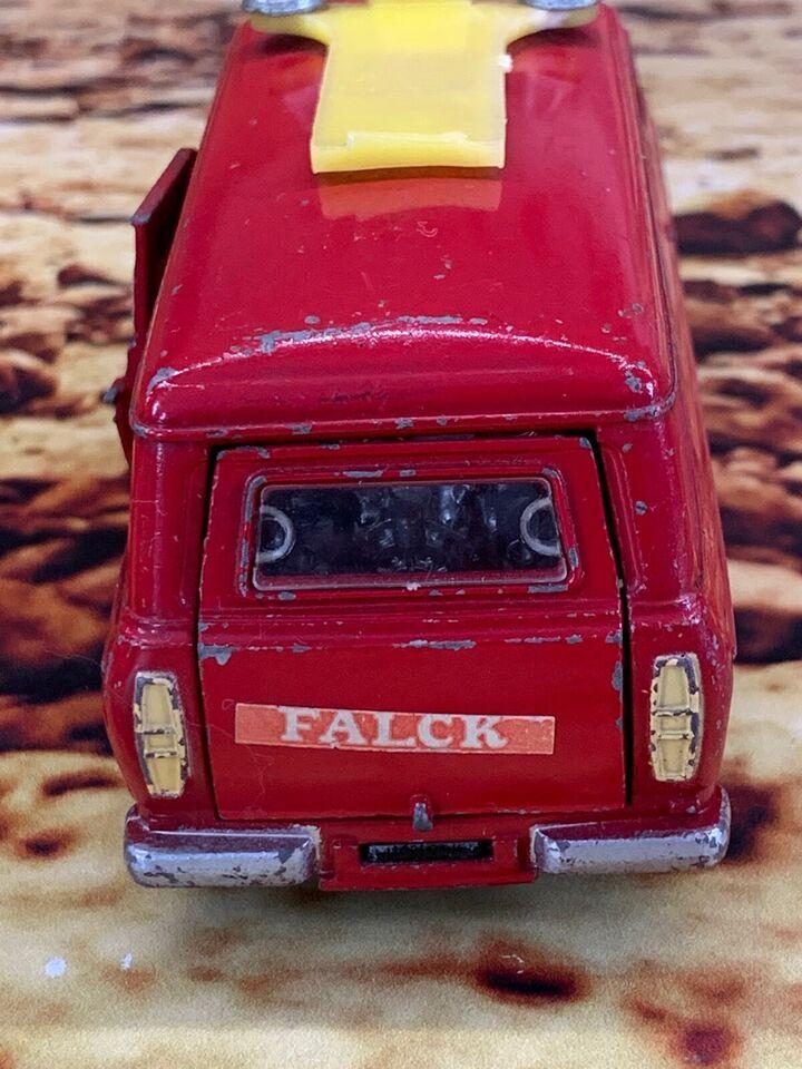 Modelbil, Dinky Toys no 286 Ford Transit Van Dansk Falck