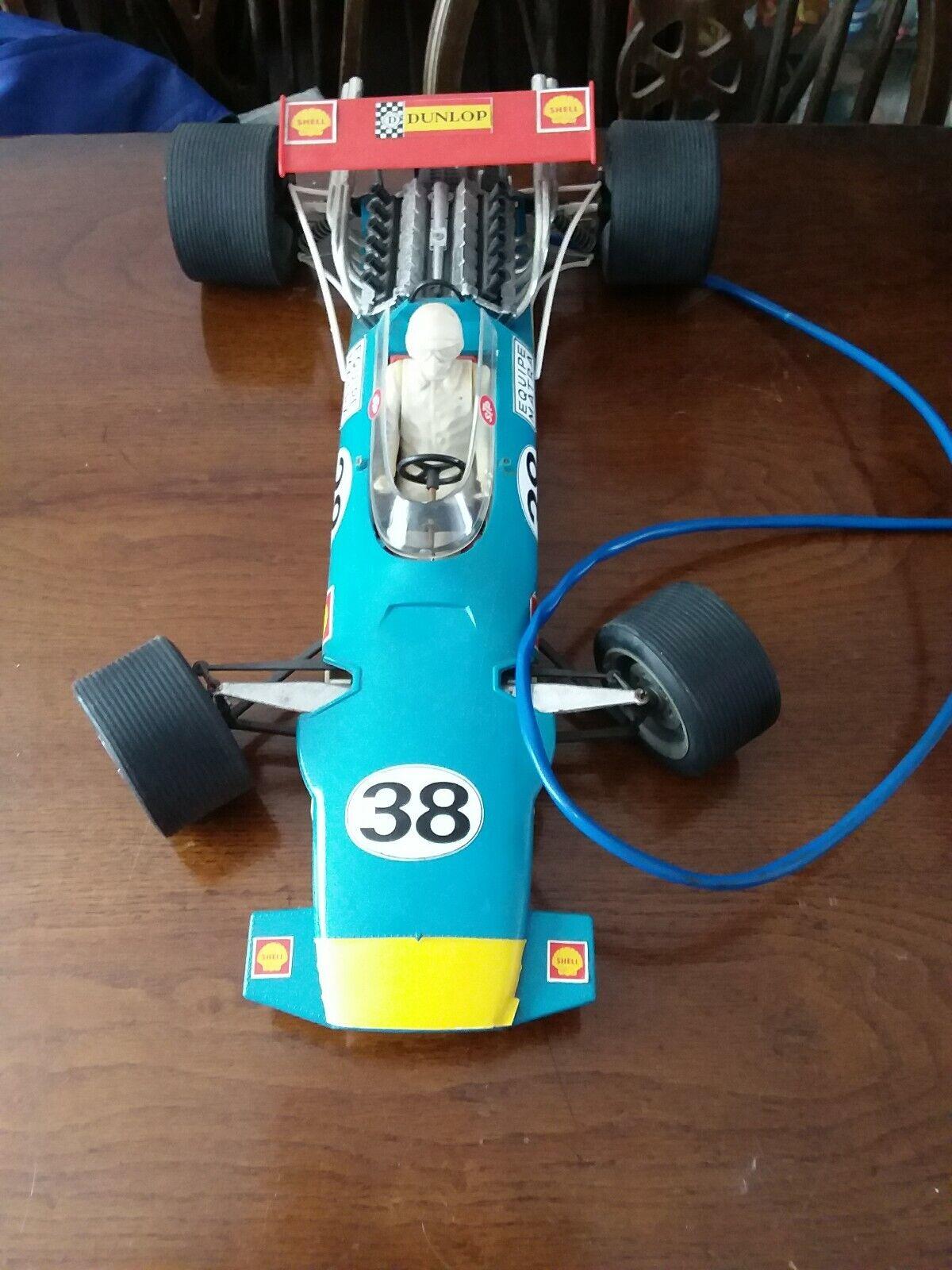 Vintage Polistil P.49 Matra F1 V12 Remote control Racing Car Large 1 10th