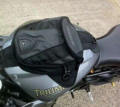 OGIO Ogio Super Mini Tanker Stealth Bag Tank Bag Magnetic Roadbike Bag