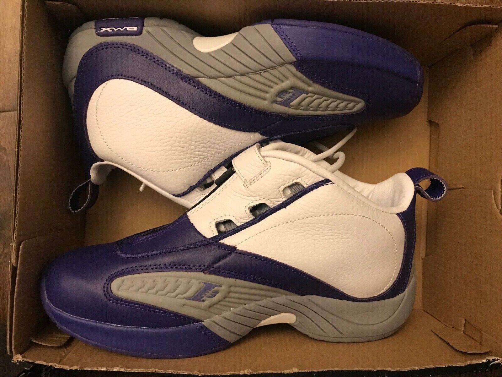 IV 4 Answer Reebok DMX AI Lakers Kobe Blanc Violet Iverson