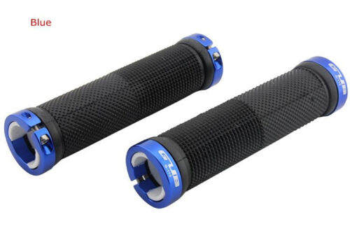 MTB Bike Bicycle Lockable Handle Grip Road cycle Handlebar Grip Rubber  Aluminum
