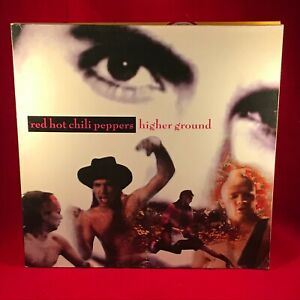 RED-HOT-CHILLI-PEPPERS-Higher-Ground-1990-UK-12-034-vinyl-single-EXCELLENT-R-H-C-P