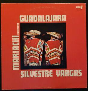 Mariachi-Monumental-de-Silvestre-Vargas-034-Guadalajara-034-Vinyl-Record-LP