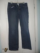 Ann Taylor Loft Straight Womens Blue Jeans Denim Pants Stretch - Size 8 - GC
