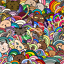 DMC-Modern-Colorful-Cross-Stitch-Embroidery-Pattern-Chart-PDF-14-Count thumbnail 19