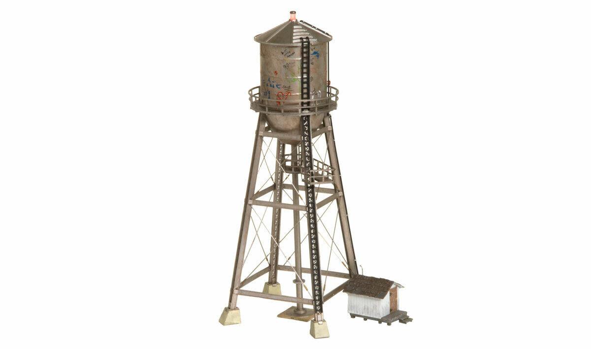 Woodle SCENICS o scale BR5866 RUSTICO Acqua Torre costruita & Ready