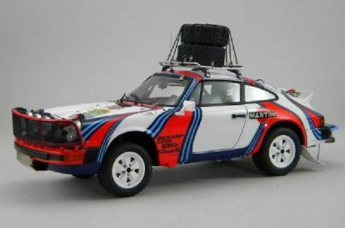 Kit Porsche 911SC Martini Assistenza Rapida Safari Rally 1978 - Arena kit 1/24