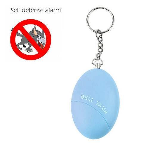 Safe Sound Personnelle Alarme œuf Self-Defense attaque ANTI-VIOL Keychain Grace
