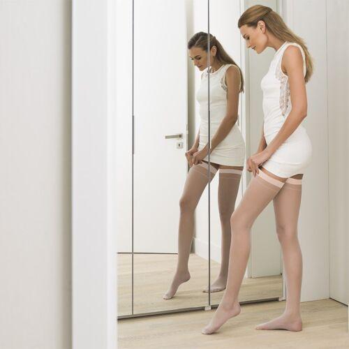 New Sheer Hold-Ups Women Nylon Socks Reinforced Toe Lot 6 Pieces 20 Denier