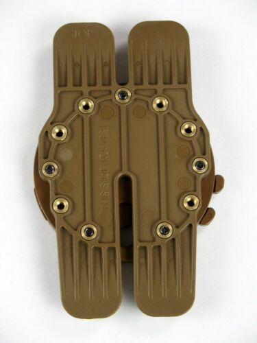 G-Code RTI H-MAR Molle Vest Plate Carrier Holster Mounting Platform Adapter Tan