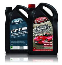 EVANS WATERLESS COOLANT POWER COOL 180 & PREP FLUID TWIN PACK - MG ZR K Series