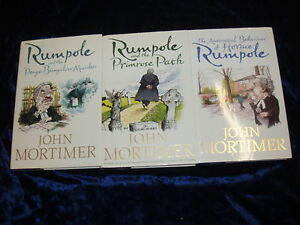 3-RUMPOLE-HARDBACK-BOOKS-by-JOHN-MORTIMER-3-25-UK-P-amp-P