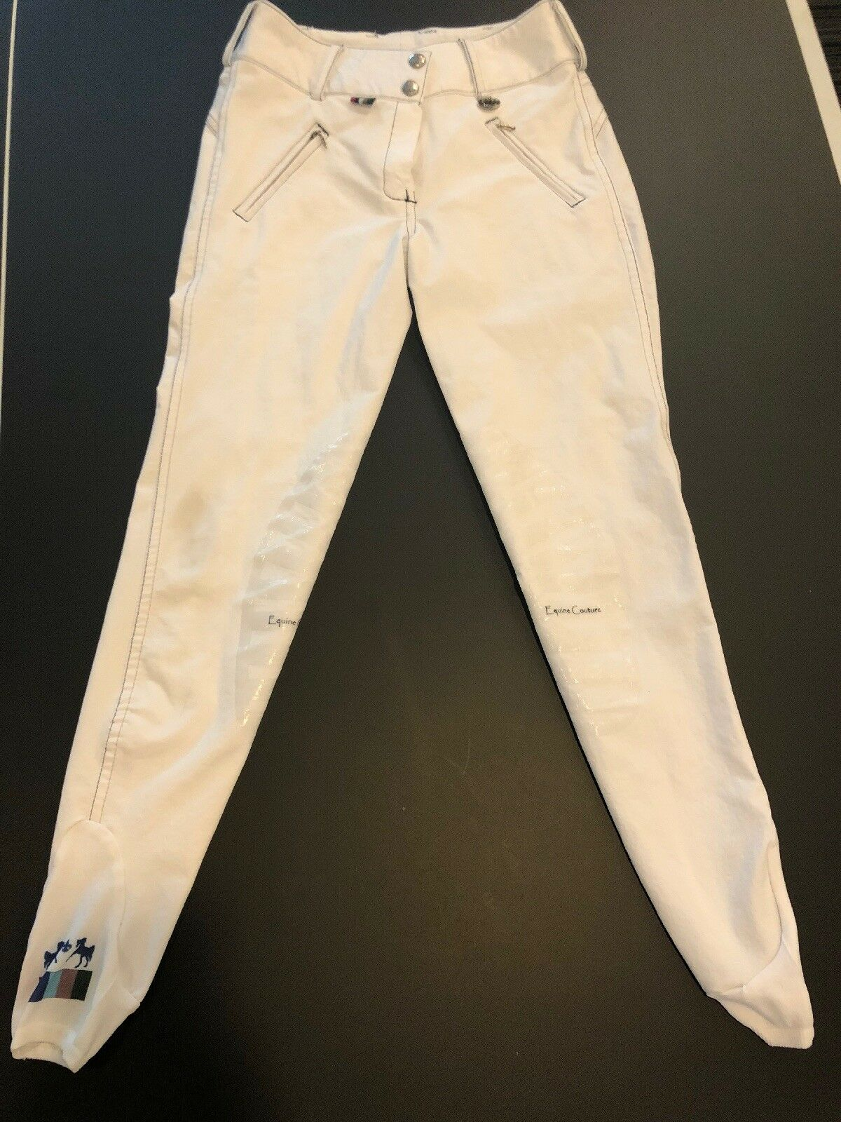Women's  Equine Couture Cool-Max Knee Patch Breeches size 24  online shop