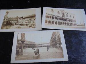 3-Cdv-old-photographs-Venice-Italy-1860s