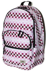 New Vans Motivee 3 Large Laptop School Backpack Checkerboard Bag