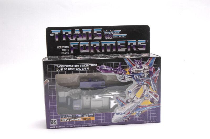 G1 transformers oktan - wechsler vintage - neuauflage geschenk spieizeugroboter hobbys