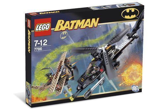 Lego Batman il Batcottero: The Chase per Spaventapasseri 7786