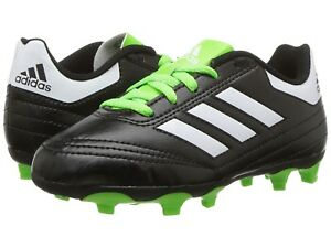 447b7964 Details about adidas Goletto VI FG kids Soccer Cleats (Black/White/Solar)  BB0570 SIze 4.5 M US