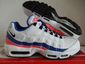 purchase cheap bb091 c3142 Image is loading NIKE-AIR-MAX-95-ESSENTIAL-WHITE-BLACK-SOLAR-