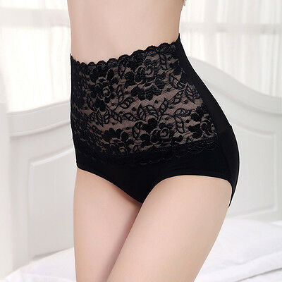 Sexy Women's Lace Underwear Briefs Panties G-string Lingerie High Waist Thongs